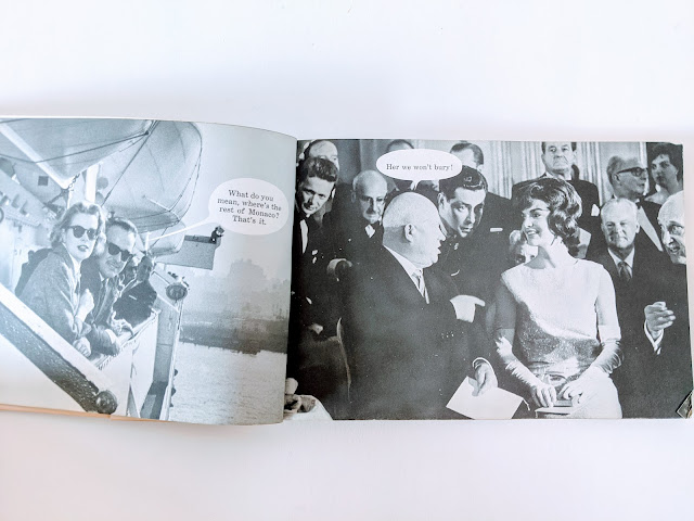 picture of a vintage photo book on white background