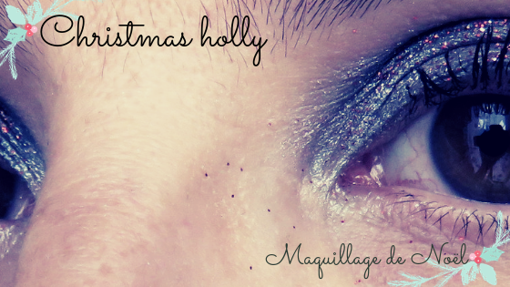 maquillage facile noel