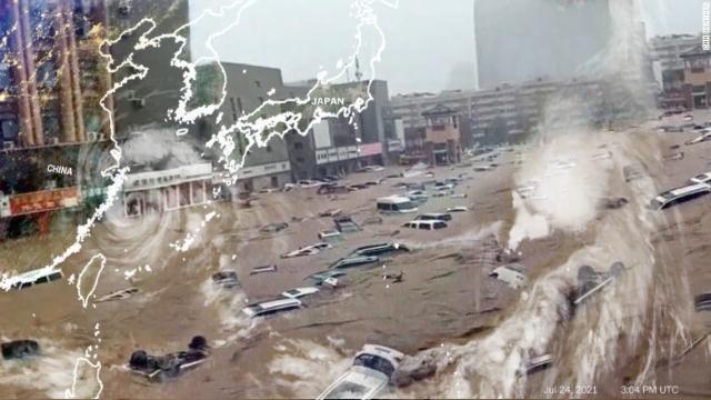 Setelah Dilanda Banjir Parah, Kini China Diterjang Topan <i>In-fa</i>