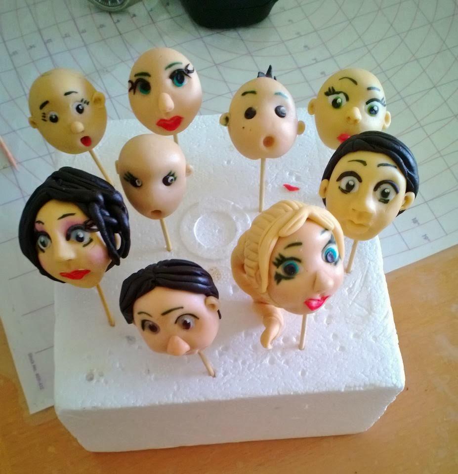 How To Make Gum Paste Faces For Figures - Veena Azmanov-5622