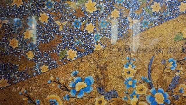 Batik Hokokai Siang Sore Koleksi Museum Batik Pekalongan