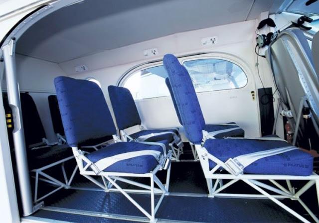 Pilatus PC-6 interior