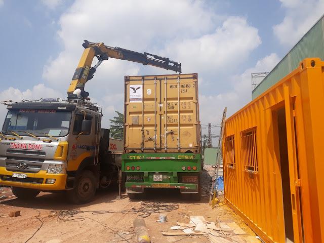 Container Cũ Làm Kho Tại Bình Phước