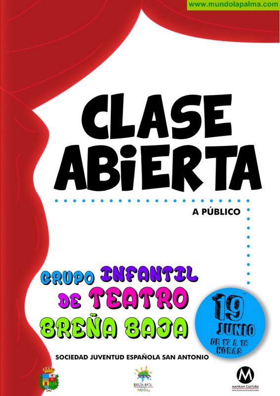 BREÑA BAJA: Clase abierta de Teatro Infantil