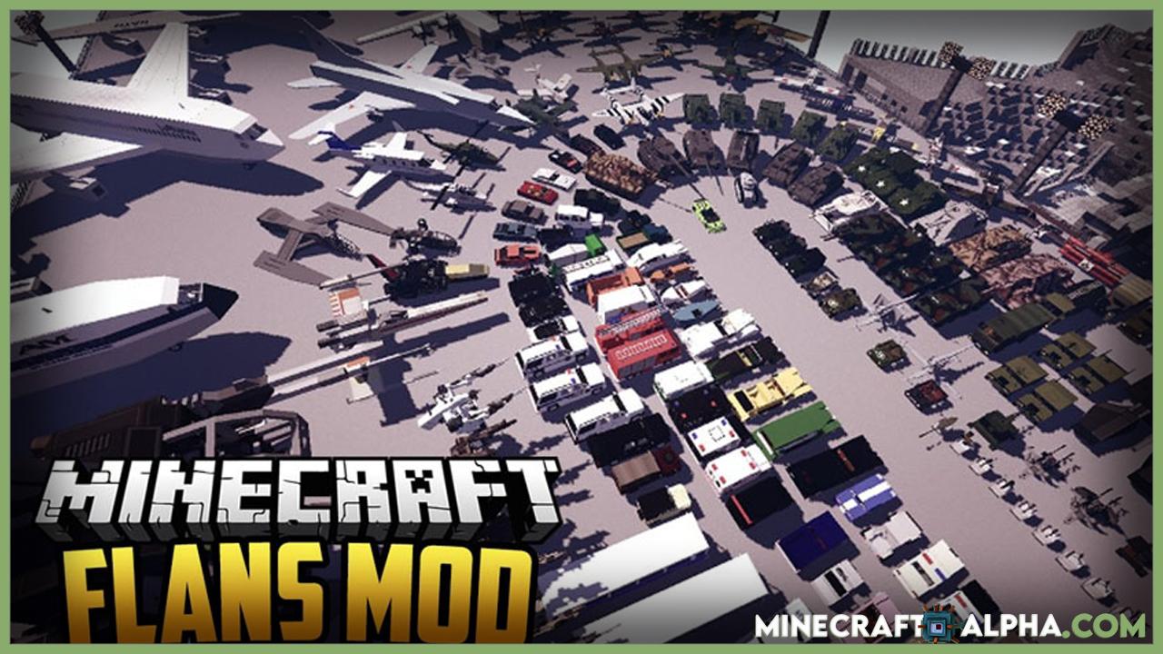 Top 5 Best Minecraft Car/Vehicle Mods (5 Kinds) Flan's Mod