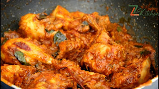 How to make chicken roast / Dry chicken curry