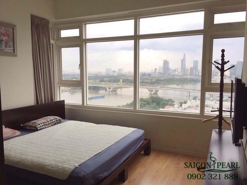 Saigon Pearl 2 phòng ngủ cho thuê giá rẻ full nội thất chỉ 17 tr/tháng - hình 3