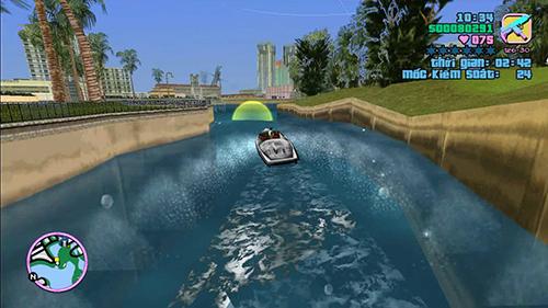 Vice City sẽ thử tài lái thuyền của bạn đấy