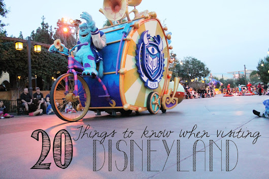 20 Tips for a Better Disneyland Vacation