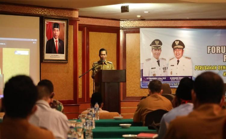 Bahas Perubah RPJMD, Pemkota Serang Gelar Konsultasi Publik