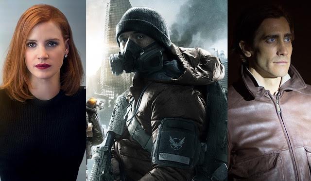 """Netflix adquire adaptação de """"The Division"""", com Jake Gyllenhaal e Jessica Chastain"""
