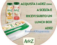 Logo Con Adez ricevi subito un lunch box a marchio Adez