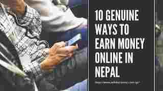 10 Genuine ways to earn money online in Nepal