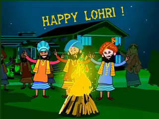 Happy Lohri Images HD 2017