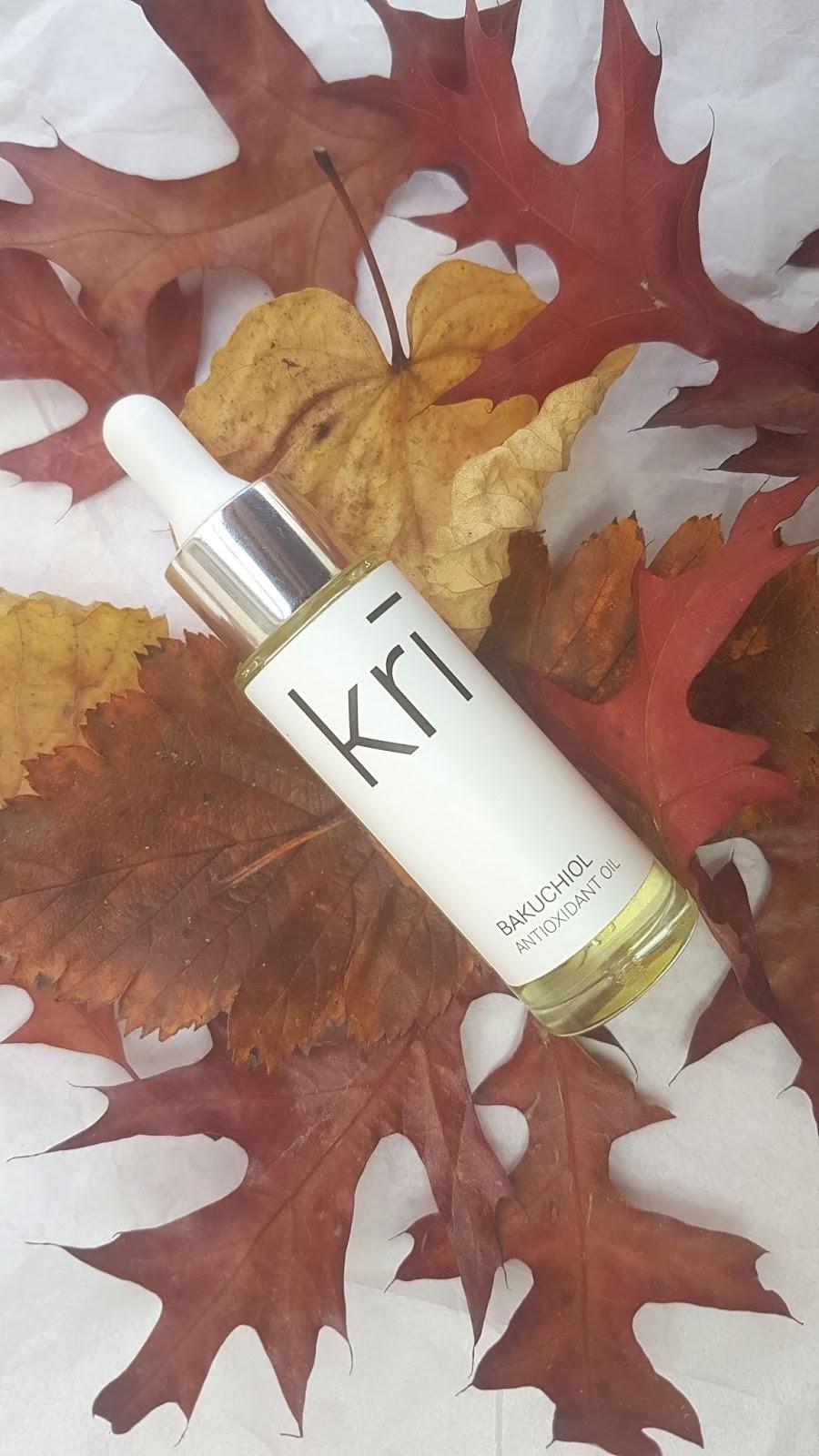 Kri Skincare Review - Bakuchiol Antioxidant Oil