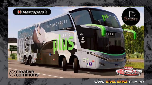 PARADISO G7 1800 DD 8X2 - VIAÇÃO GARCIA LEITO PLUS