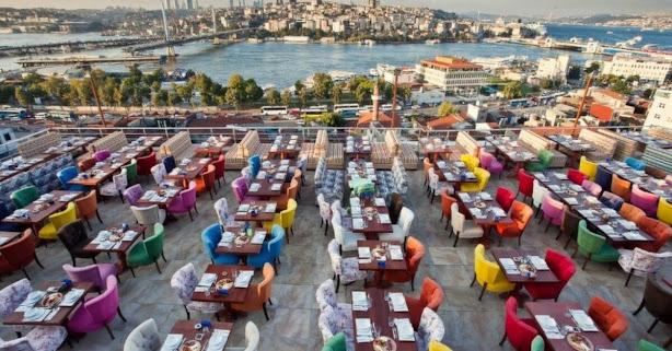 مقاهي السليمانية اسطنبول