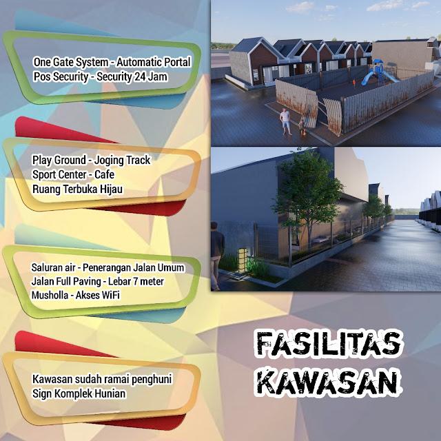 Fasilitas Grand Sriwijaya Cluster