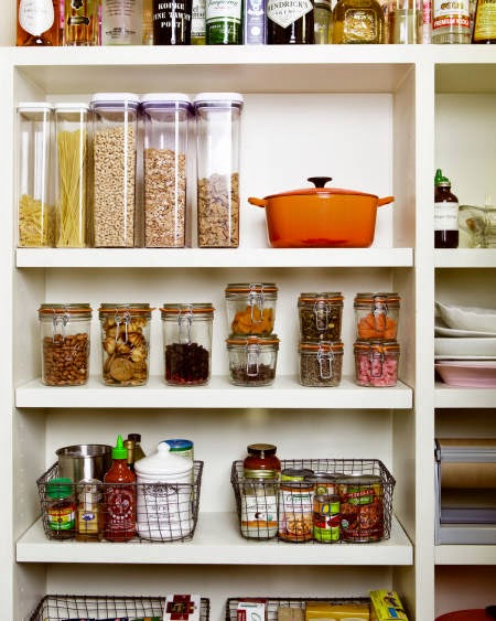Tips-For-A-Stress-Free-Dinner-Party-well-stocked-pantry