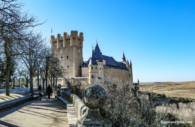 Alcázar de Segóvia, Espanha