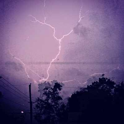 lightning photo with iphone