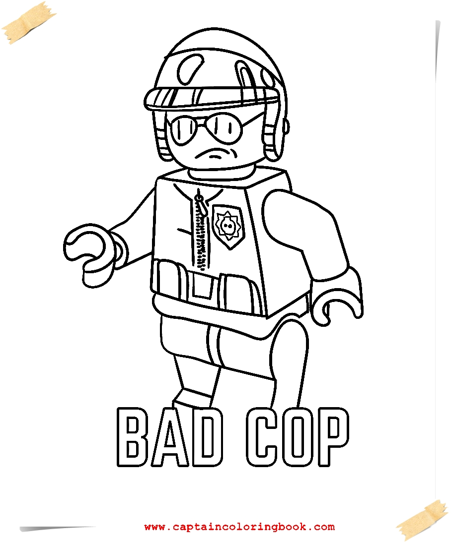 Lego Movie Coloring Pages - Coloring Page