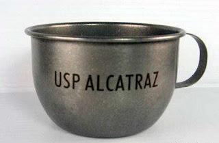 diseño de taza de la prisión de alcatraz
