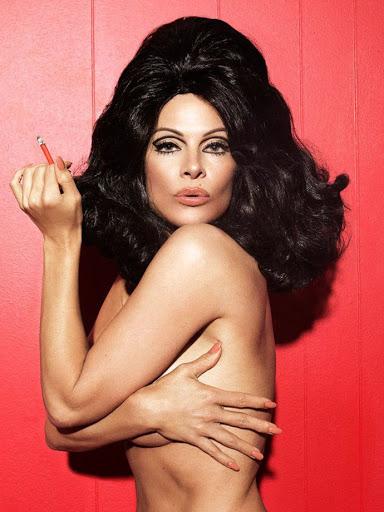 pamela anderson naked photo shoot for paper magazine february 2016
