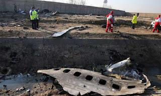 """""""نيويورك تايمز"""" تنشر فيديو لإصابة الطائرة الأوكرانية بصاروخ إيراني"""