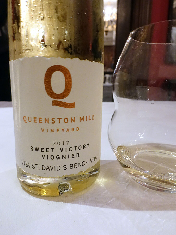 Queenston Mile Vineyard Sweet Victory Viognier 2017