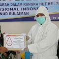 Rangkaian HUT TNI Ke 75 Personil TNI AU di Bandung Raya Ikuti Donor Darah di Lanud Sulaiman