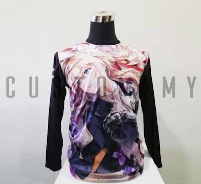 Design Baju Group atau Cetak Baju Sendiri? Pilih custom.my