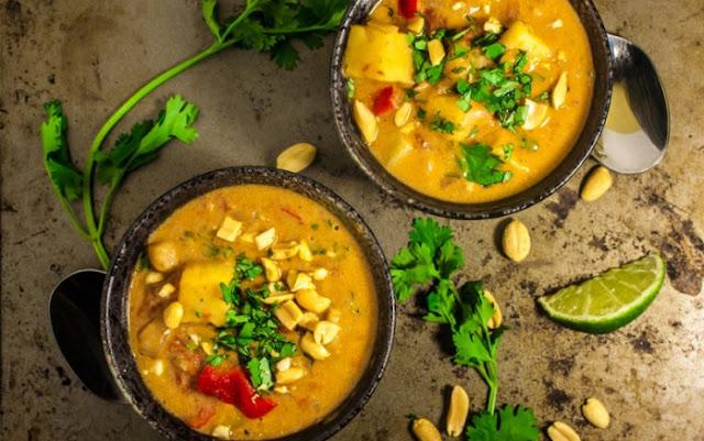 West African peanut stew #vegan #gluten-free