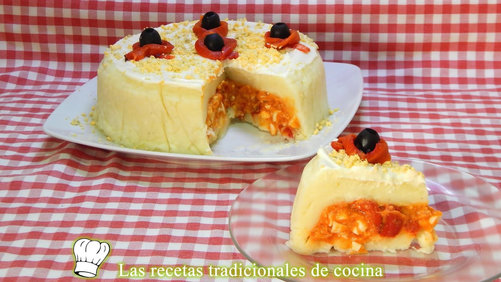 Receta Fácil Y Económica De Pastel Frío De Patatas