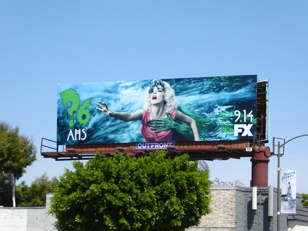 AHS season 6 swamp girl teaser billboard