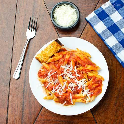 Basic Italian Tomato Sauce (Marinara
