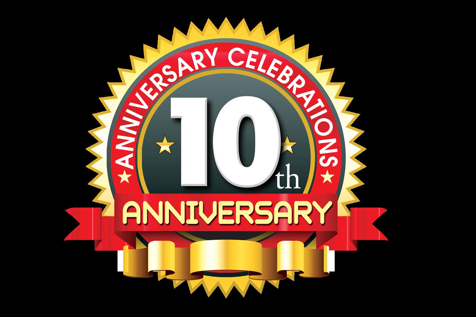 Years anniversary colorful vector logo design naveengfx