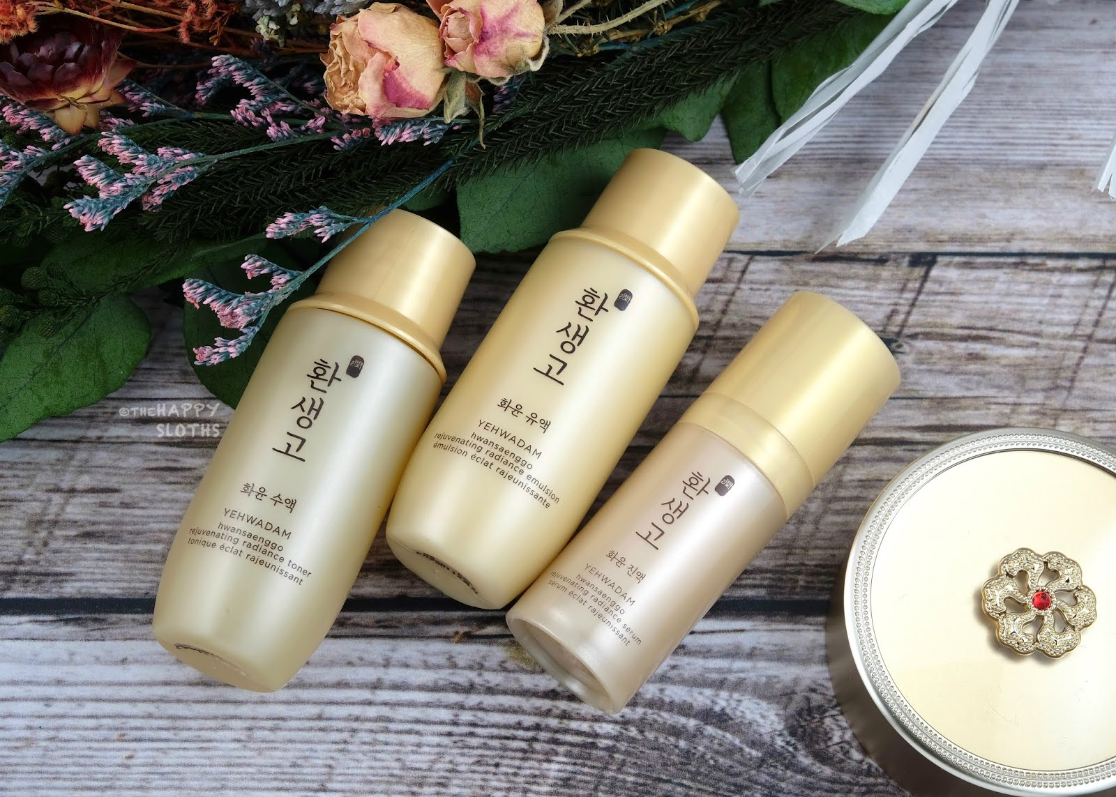 THE FACE SHOP | Yehwadam Hwansaenggo Rejuvenating Radiance Cream: Review