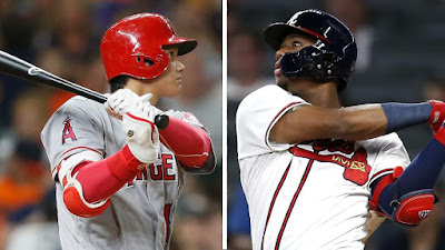 Ohtani y Acuña encabezan la última encuesta de MLB.com sobre los premios al Novato del Año