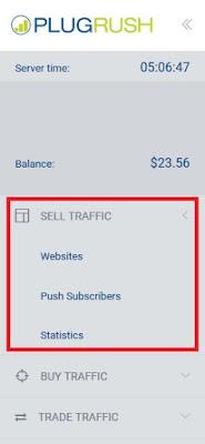 PlugRush para monetizar una página web