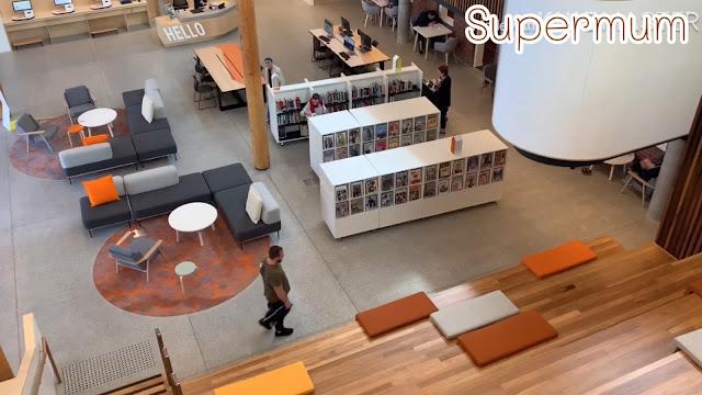 ห้องสมุดใหญ่และสวยที่สุดใน ออสเตรเลีย