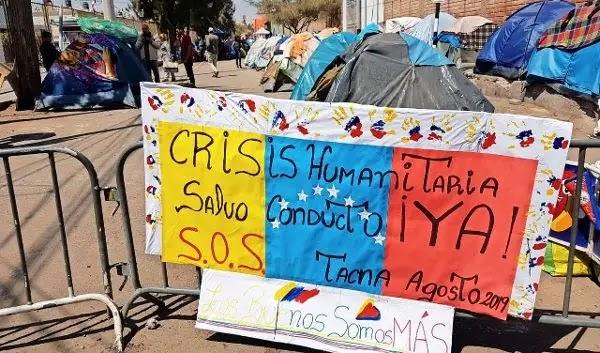 Venezolanos desistieron de regresar al paso Chacalluta