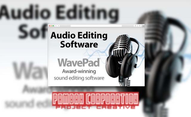 Free Download WavePad Audio Editing Software With Keygen