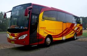 paket bus wisata transportasi  tanjung lesung murah
