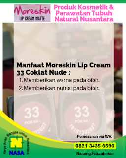 Lip Cream Coklat Nude
