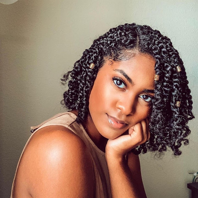 2019 Best Natural Hairstyles for Black Ladies