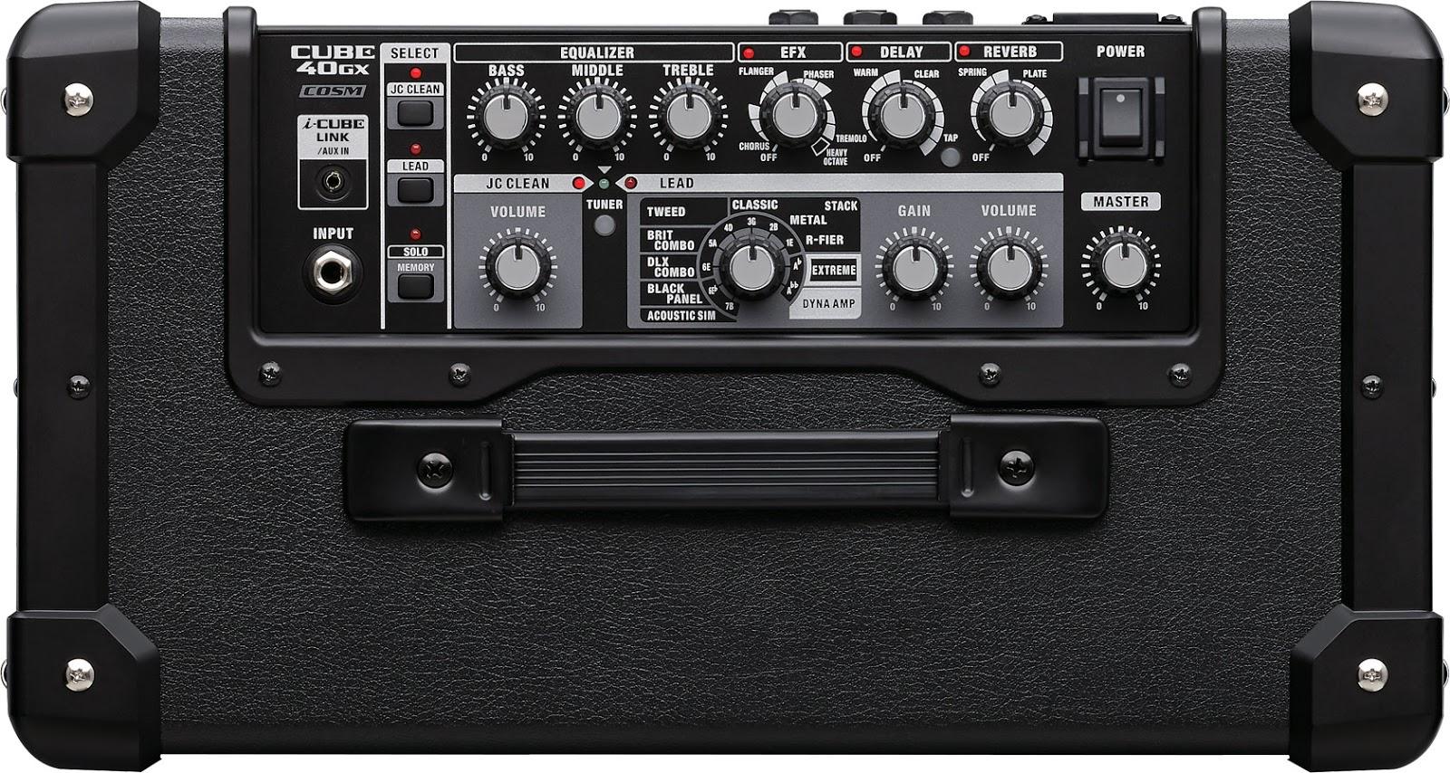 Combo Roland Cube 40GX