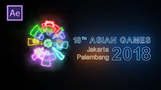 Opening Video Asian Games 2018 | Tutorial After Effect Bahasa Indonesia