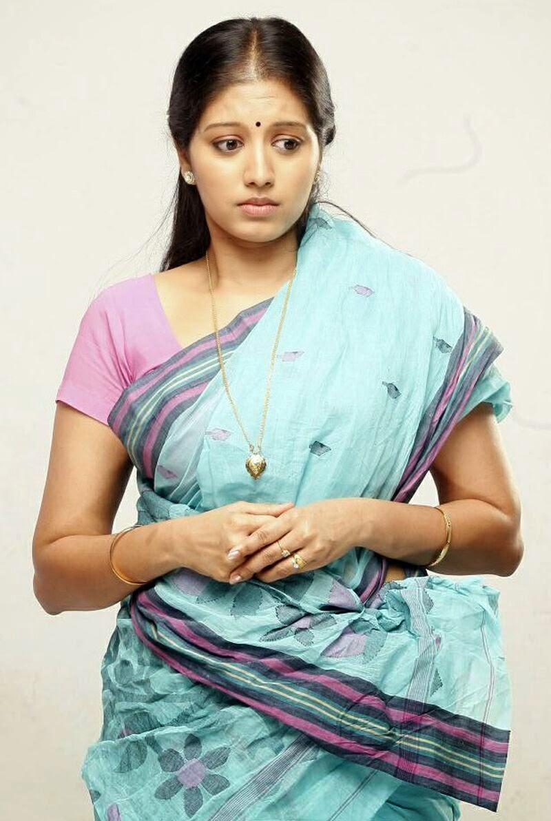 Actress Gopika Photo In Blue Saree