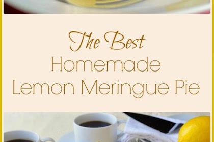 The #Very #Best #Homemade #Lemon #Meringue #Pie